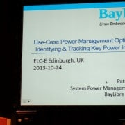 Patrick  talk at ELCE 2013