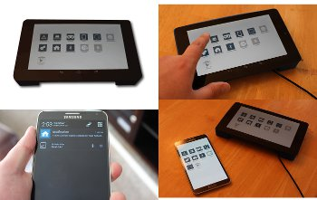Android-based touchscreen router does home automation · LinuxGizmos