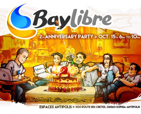 BayLibre 2nd anniversary