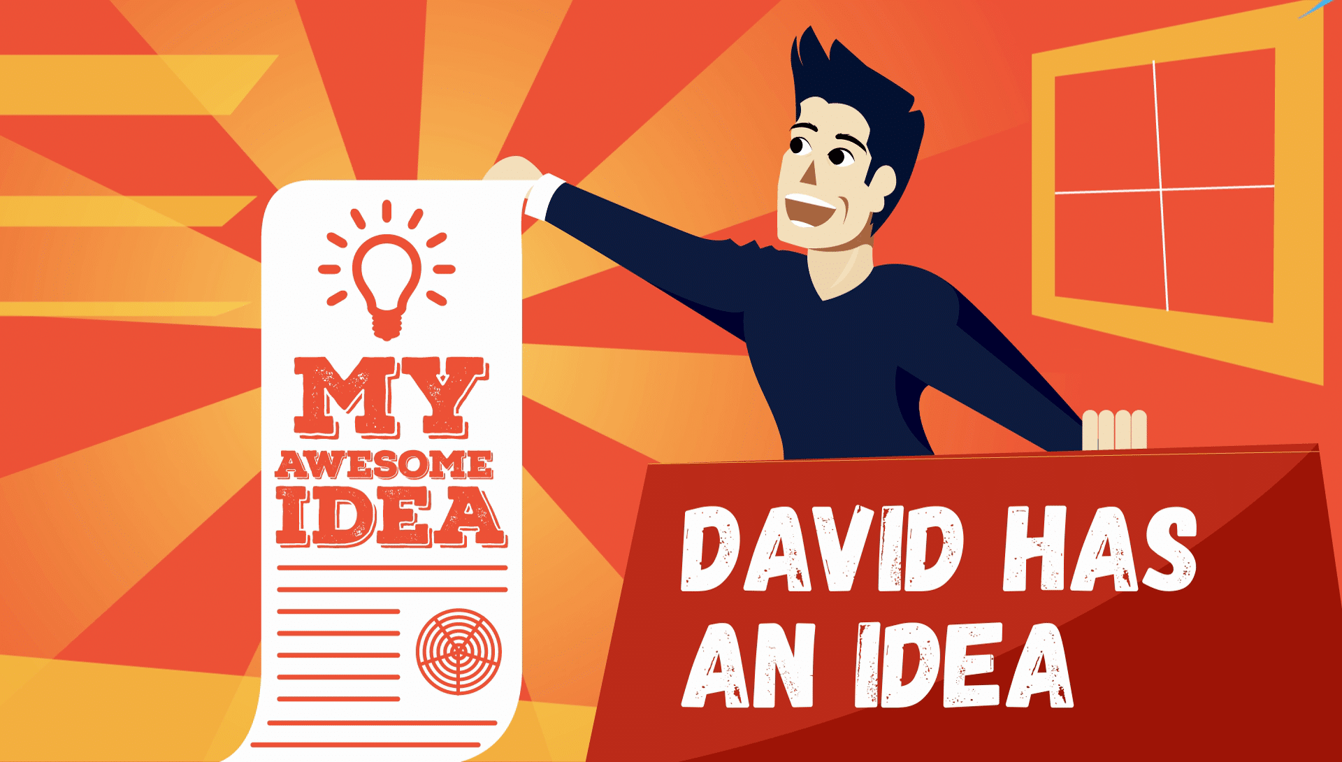 David has an idea