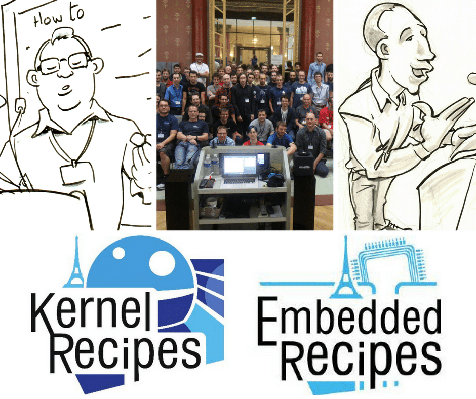Embedded and Kernel Recipes speakers